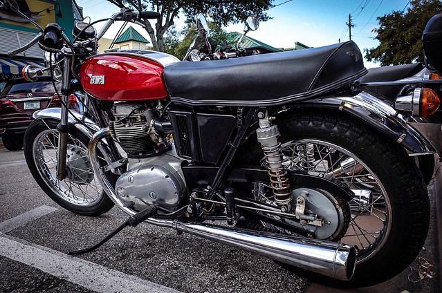 1971 BSA Motorcycle