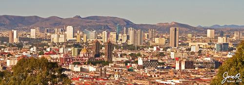 Panorama Volcánico desde La Paz