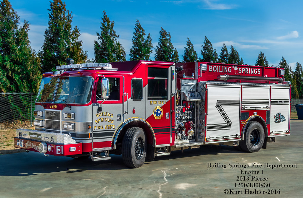 Boiling Springs Engine 1 | Boiling Springs, Spartanburg Coun