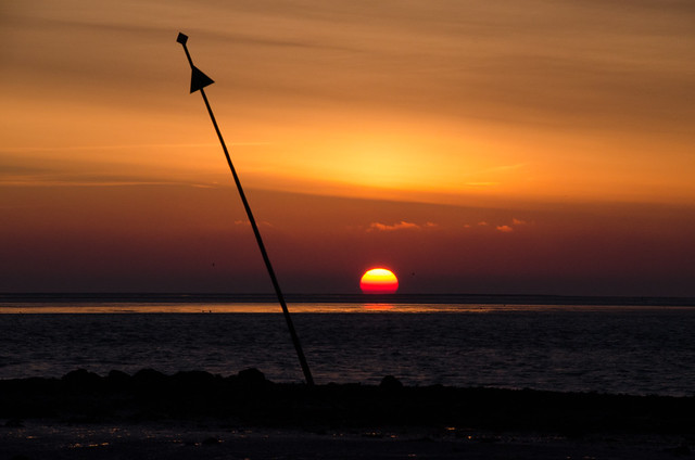 Vlieland - de waard - the beginning of Blue Monday