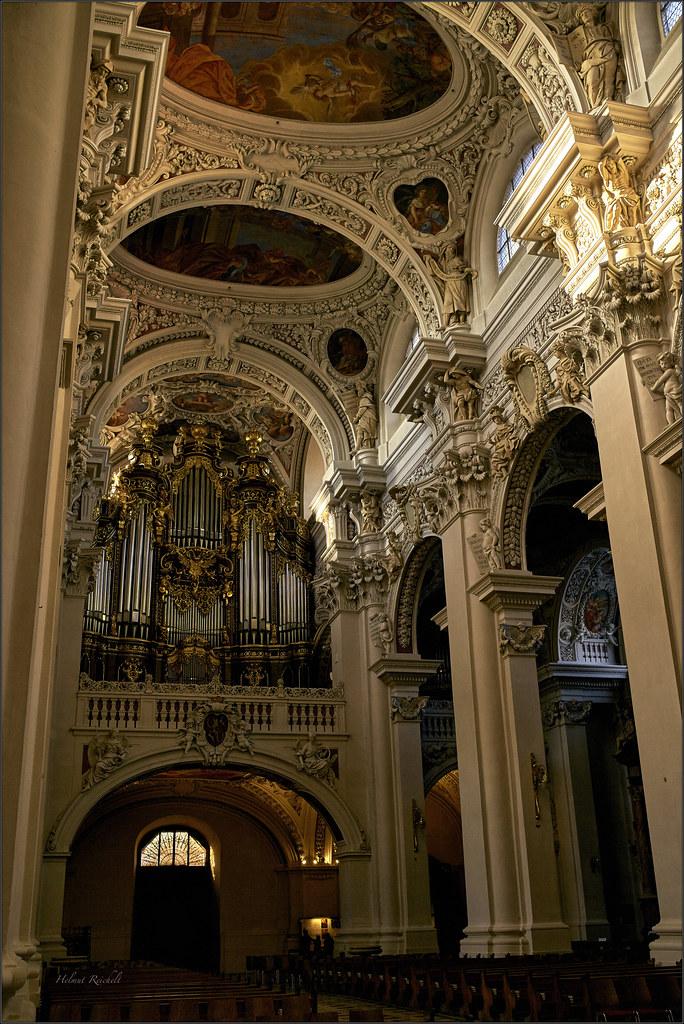 Die Passauer Domorgel Passau Dom Die Heutigen Fünf Orgel Flickr