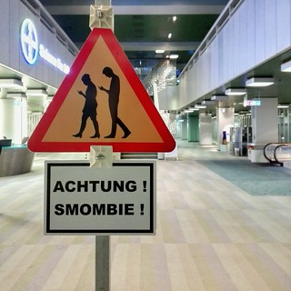 Caution! Smombie! | by A_Peach