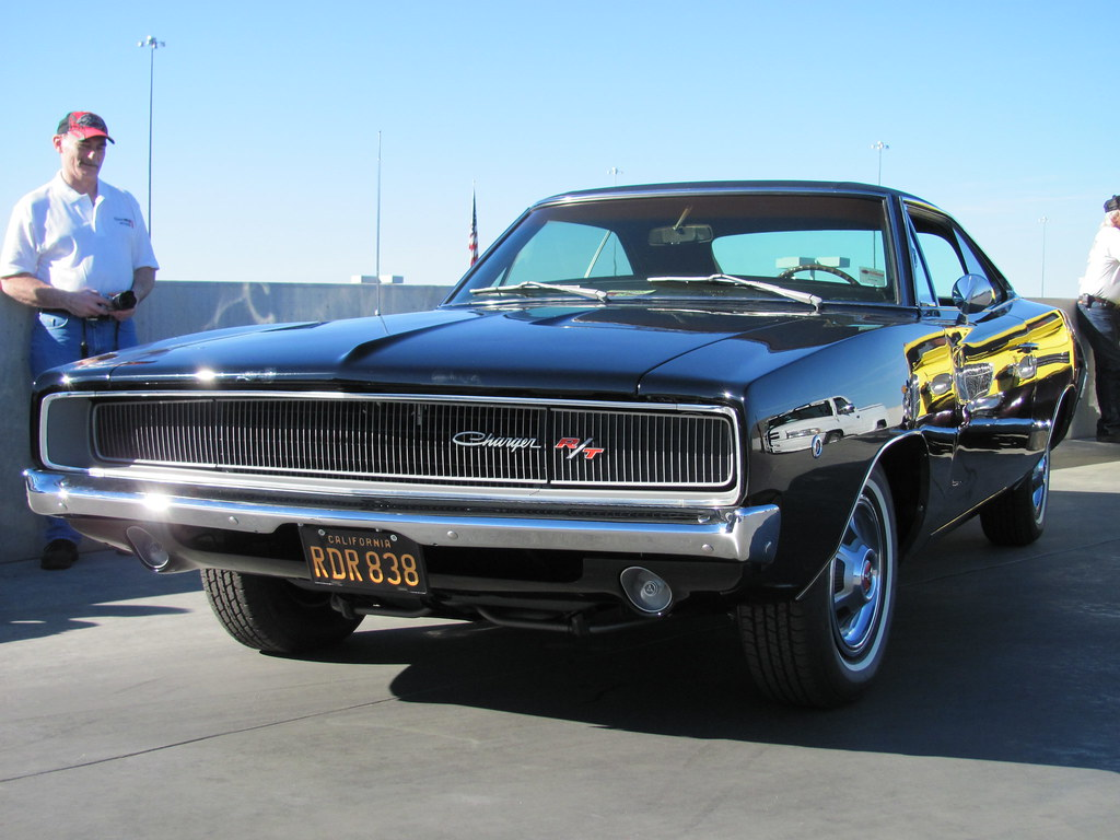 Bullitt Charger | The black 1968 Dodge Charger R/T used in t… | Flickr