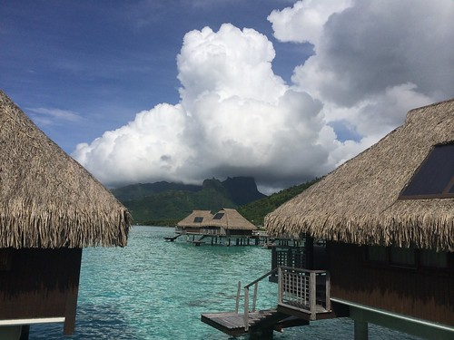 moorea southpacific societyislands tahiti clouds overwaterbungalows
