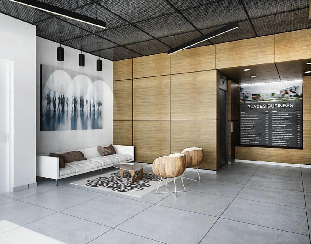 Places. Lobby oficinas. Diseño interior. #bassicoarquitect… | Flickr