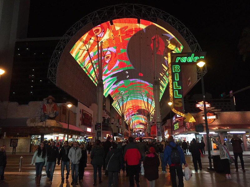 Fremont Street Experience 2015
