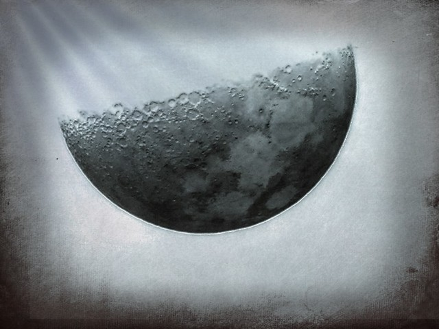 Half Moon in the Negative