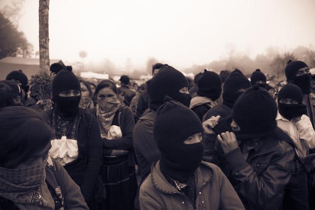 Bases de Apoyo zapatistas