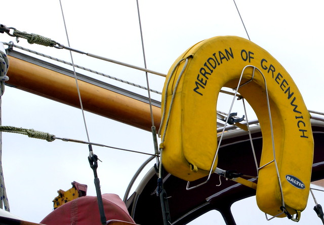 Meridian of greenwich Safety buoy