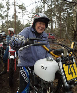 10,000th pic: Motorcycle Trial, Surrey, Feb 2016