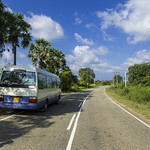 Unterwegs - im Bus