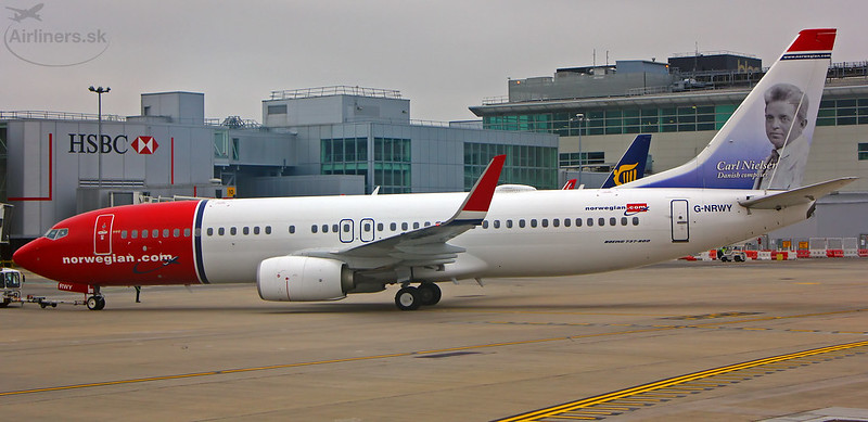 Norwegian Air UK G-NRWY Boeing 737-8JP(WL)