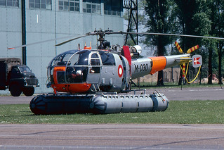 M-030 - Alouette III - Royal Danish Air Force - Bassingbourn - 28 May 78 | by THE Graf Zeppelin