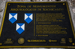 2016 - Mexico - Xochicalco - UNESCO Protected