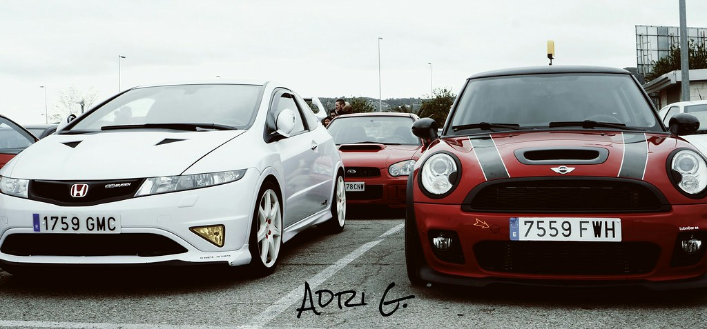 Honda Civic Type R Fn2 Subaru Impreza Wrx Sti Y Mini John Flickr