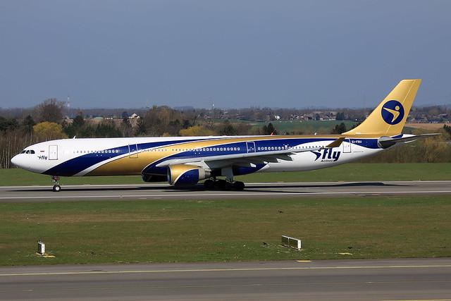 I fly Airbus A330-322 EI-FBU