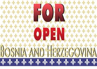 FOR OPEN BOSNIA AND HERZEGOVINA