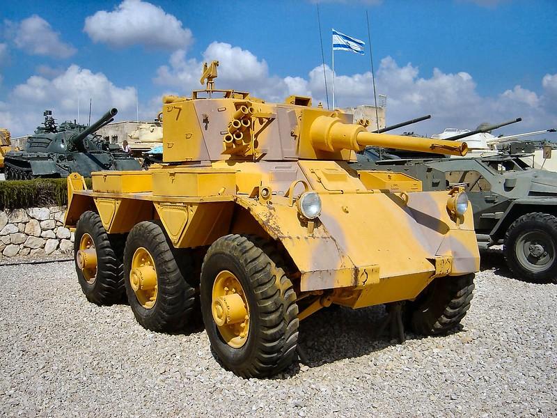 Saladin Armored Car 2
