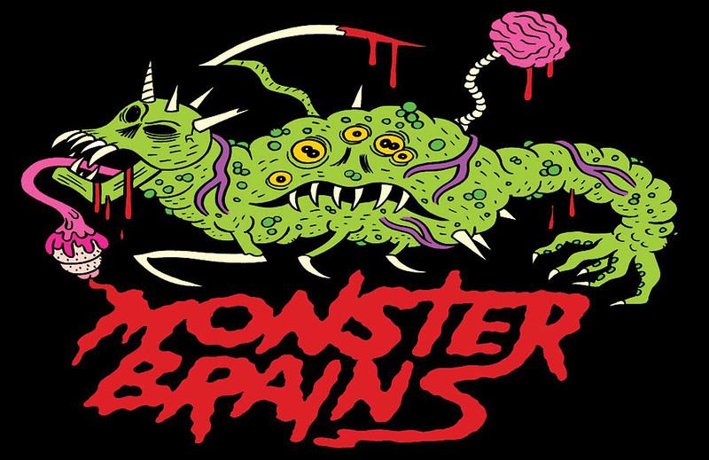 MONSTER BRAINS LOGO - Johnny Ryan