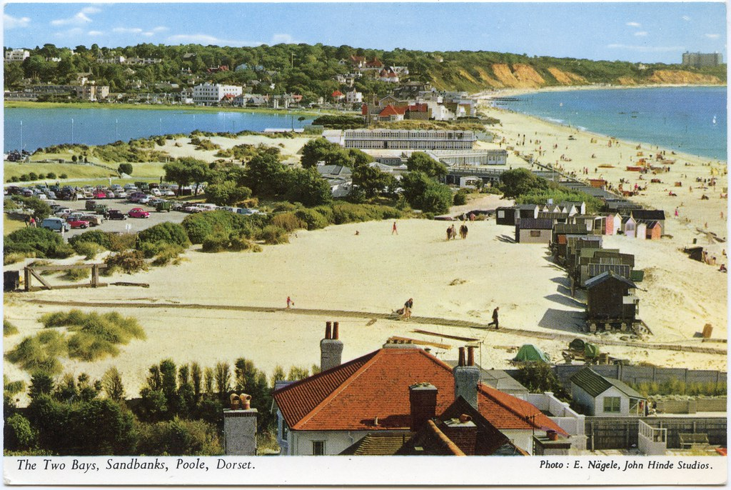 Sandbanks Poole Dorset Looking North East Back To The M Flickr