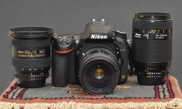 Nikon D750 with Generations Trinity