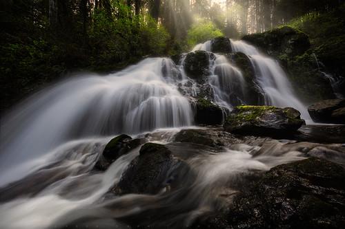 morning water vancouver rocks bc britishcolumbia waterfalls mission steelheadfalls jasondarr
