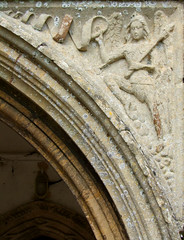 St Gabriel at the Annunciation (15th Century)