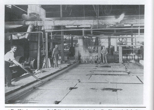 Lithgow rolling mill c1915