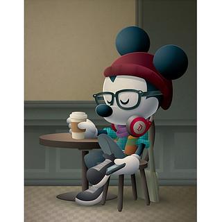 Cafe Hipster