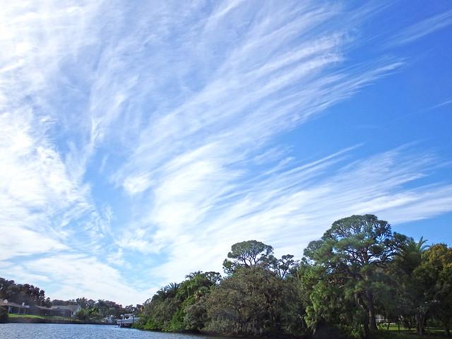 Boating Under the Clouds in Sarasota DSCF2861