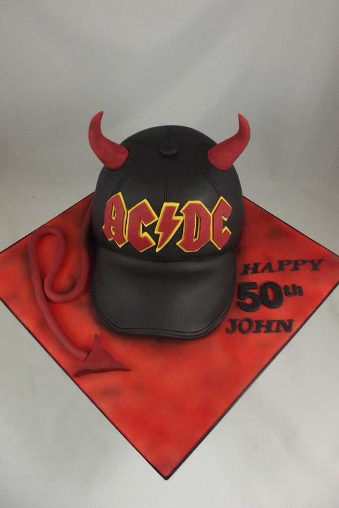 AC/DC birthday cake | Sweet Treats cakes by Allison | Flickr