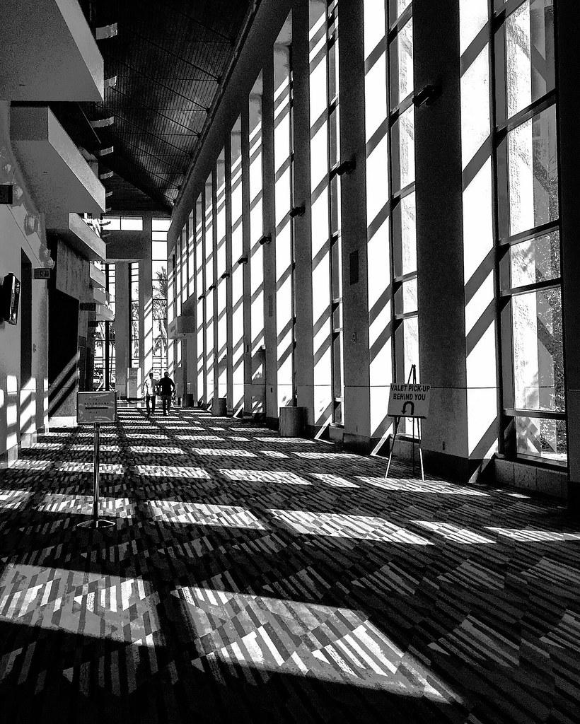 Mid morn shadows.
