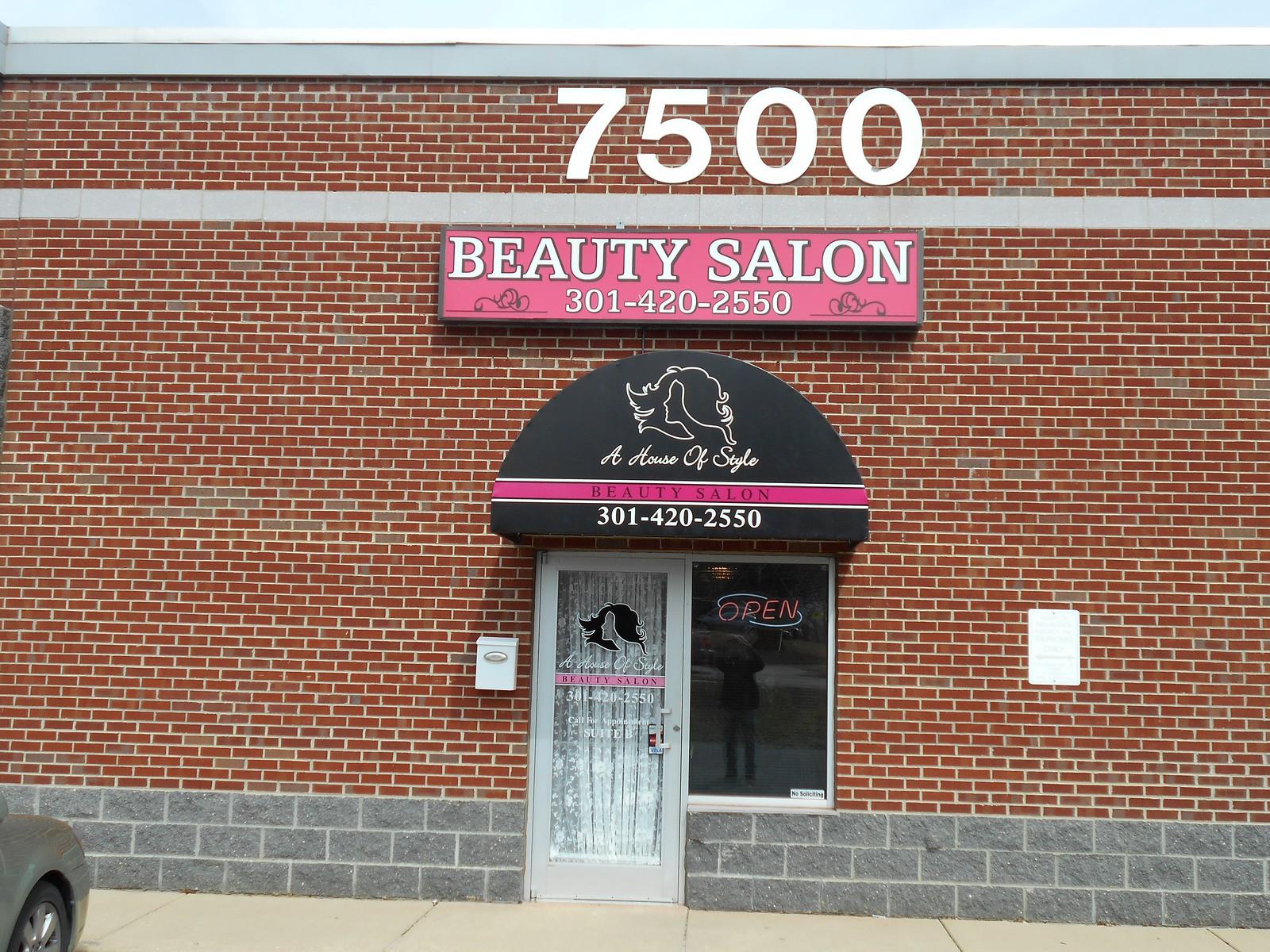 Beauty Salon Awning