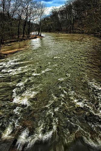 county storm water river landscape maryland baltimore gunpowder