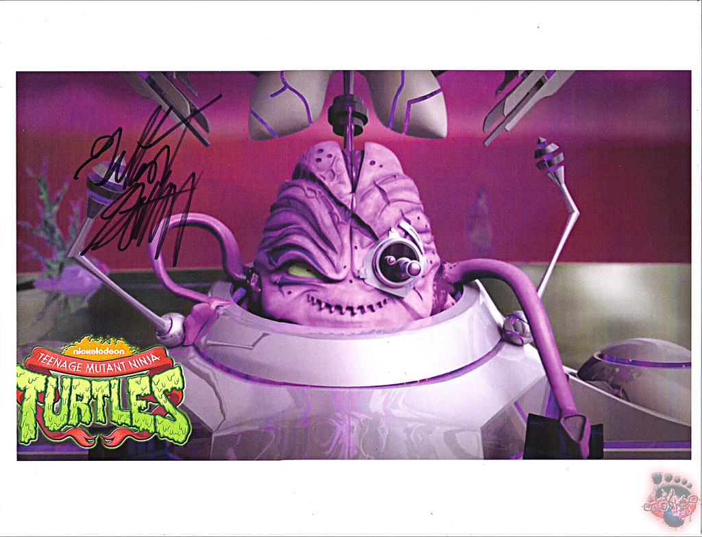 "Nickelodeon TEENAGE MUTANT NINJA TURTLES :: ""Kraang Subprime"" signed by GILBERT GOTTFRIED by tOkKa"