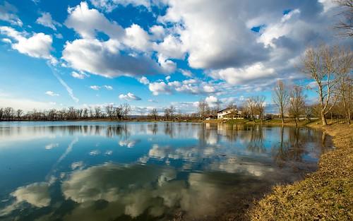 lakezajarki lakes zaprešić zajarki jezerozajarki hrvatska croatia cloudy clouds sky nikond600 nikkor173528 vladoferencic vladimirferencic