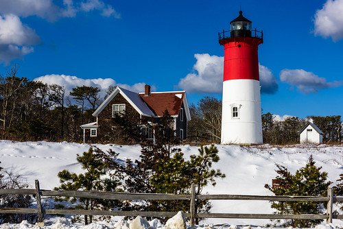 winter lighthouse snow color clouds landscape nikon capecod nausetlight nikond810 240700mmf28