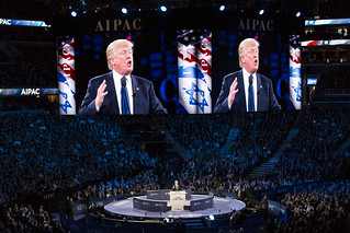Donald Trump speaking at AIPAC, Washington DC | by Lorie Shaull