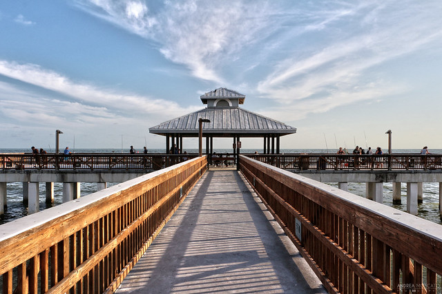 Fort Myers Beach Fishing Pier - Florida