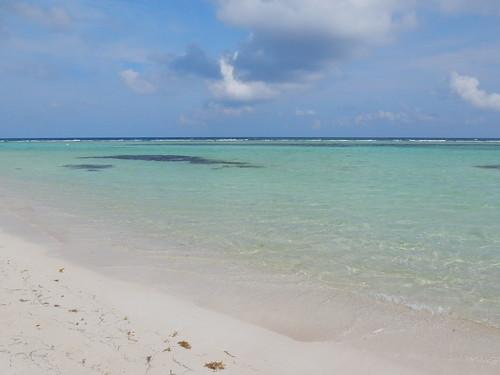 Mahahual - lekker kleurtje zee