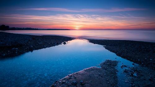 longexposure blue sunset sea bw seascape color lines nikon horizon tripod greece christophe d800 patra nd110 seekingthehorizon christopheanagnostopoulos