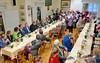 Während der Feierlichkeit im Haus der Heimat mit dem Chor der Banater Schwaben Karlsruhe