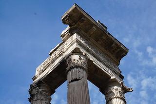 Ruins at the Temple of Apollo Sosiano, Rome | by mattk1979