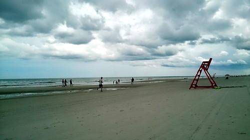 beach storm tempête nuages sky cloud ciel plage seaside jax jacksonville fl floride florida us sable mer sea ocean