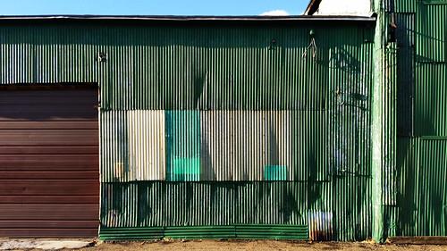 abstract corrosion corrugated decay facade foundart garage geometric industrial landscape lawrenceville metal pittsburgh rust rustbelt urban urbanlandscape wall warehouse