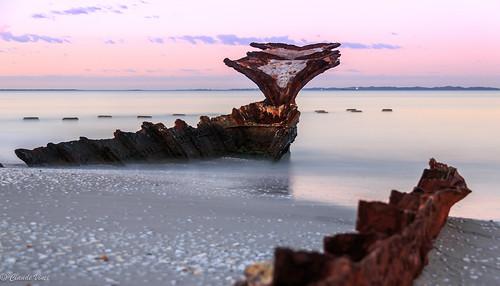 longexposure beach sunrise australia fremantle freo westernaustralia coogee ndfilter southfremantle cyoconnor northcoogee cyoconnorbeach wyolawreck