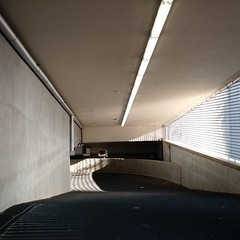 light and shadow in Lantaren/Venster parking garage