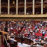 Hemicycle de l'Assemblée nationale