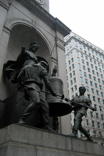 NYC - Herald Square: James Gordon Bennett Monument   by wallyg