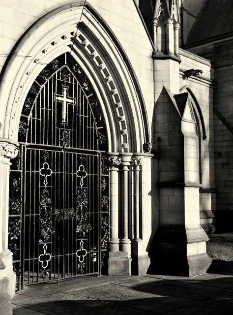Bolton Parish Church Doorway